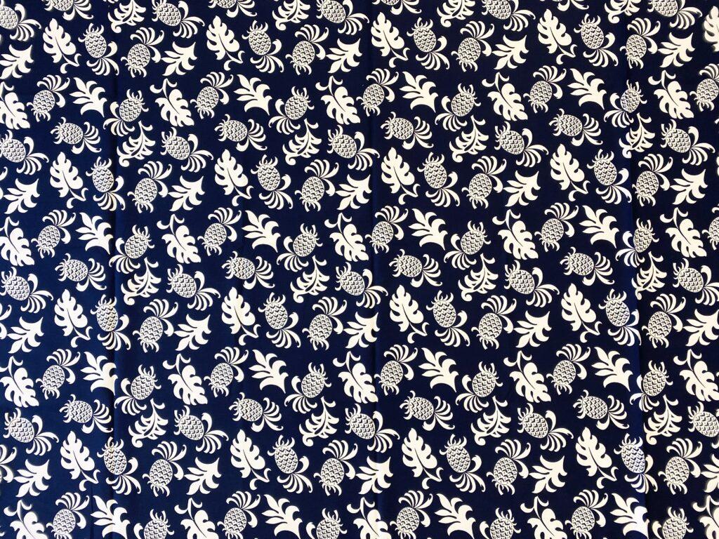 ハワイアンファブリック 綿100% 5007